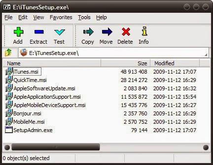 itunes.exe application error
